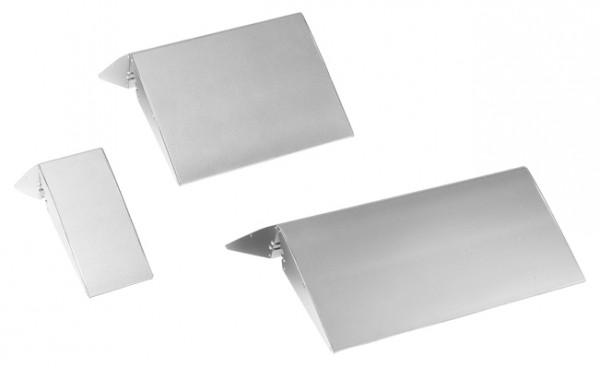 Aufstellerfuß Aluminium silber - ohne Plattendisplay