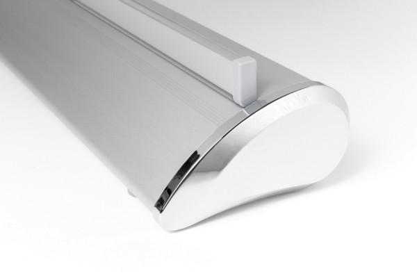 RollUp Premium Silber - ohne Druck